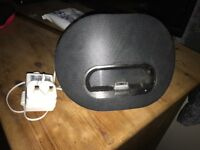 Charger and speaker for I Phone 5