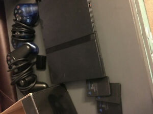 Slim PS2 and memory cards