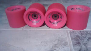 Abec11 77mm 78a wheels - including REDS bearings