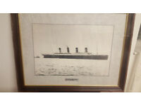 Titanic Framed Picture