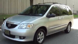 2002 Mazda MPV PARTS FOR SALE- ENGINE+ TRANNY INCLUDED