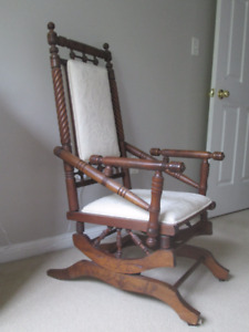 Platform Rocker, Side Chair,  Ottoman, Decor, Electronics