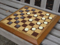 Retiree looking to organize weekly checkers game