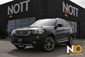 2016 BMW X3 xDrive28i, Nav, Backup Cam, Pano Roof