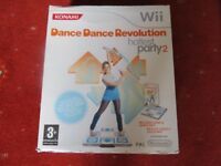 NINTENDO WII DANCE REVOLUTION HOTTEST PARTY 2 DANCE MAT