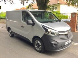 2015 Model Vauxhall Vivaro 1.6 CDTI 2700 Panel Van. SIlver. New Shape. LOW MILEAGE. Clean condition.
