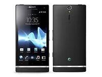 Sony Xperia S Black, White (Unlocked) Smartphone in good condition