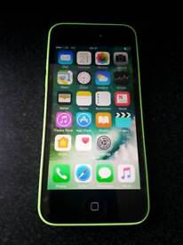 iPhone 5c Green - EE and Virgin network - Good Condition