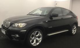 Black BMW X6 3.0 d m sport Diesel Auto 2009 286bhp FROM £72 PER WEEK!