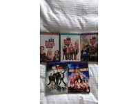 Big Bang Theory Series 1-5 DVD
