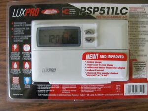 Setback Heating & Cooling Programmable Thermostat