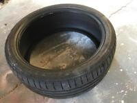 Bridgestone 225/40/19 tyre