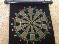 Magnetic safety darts game