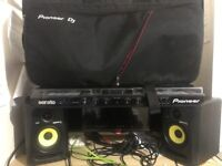 Pioneer DDJ SX DJ Controller Package ( Read description for deal)