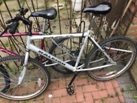 Bike unisex with lock