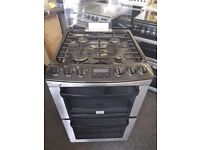 Zanussi Gas cooker (55cm) (double oven)