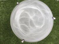 Large onyx/glass Ceiling light