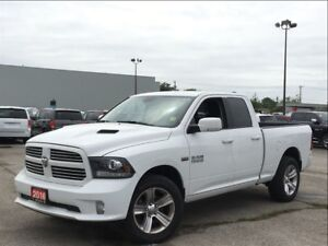 2016 Ram 1500 SPORT**SPORT HOOD**BACK UP CAM**BLUETOOTH**
