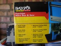 Mitre box and saw kit