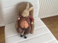 Lovely old rabbit.