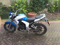 Lexmoto venom 125 cc aftermarket exhaust and alarm low mileage