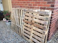 4 Pallets free to collect