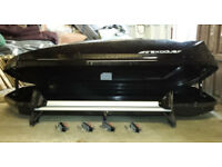 Top Box - Large with Rails and Qf/R Fittings. Suit saloon or Van