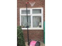 Freestanding basketball hoop