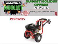 PROPLUS 7HP PETROL PRESSURE WASHER & PUMP 210 BAR 3000PSI LIFTS FROM BARREL