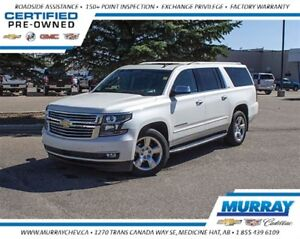 2015 Chevrolet Suburban 1500 LTZ *4WD *Leather *NAV *DVD