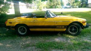 1975 MG MGB Convertible