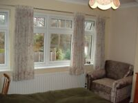 Double room, for quiet male, non-smoker, tranquil area, friendly environment
