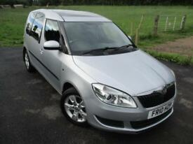 2010 SKODA ROOMSTER SE TDI CR PANORAMIC ROOF MPV (MULTI-PURPOSE VEHICLE) DIESEL