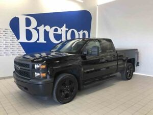 2015 CHEVROLET SILVERADO 1500 4WD DOUBLE CAB EDITION MIDNIGHT!!