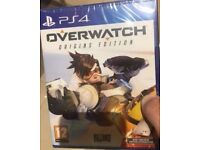 Overwatch PS4 Brand New Sealed (Playstation 4 game)