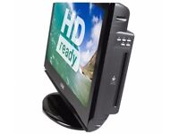 LOGIK 26INCH LCD TV WITH BUILT IN DVD PLAYER, LIKE NEW