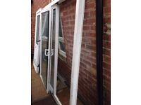 upvc patio doors with keys £90