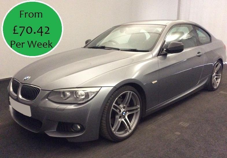 £302.81 PER MONTH STUNNING 2012 BMW 320D 2.0TD SPORT PLUS COUPE MANUAL DIESEL