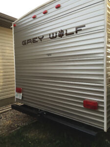 2012 GreyWolf Trailer with Bunks - 28 foot.