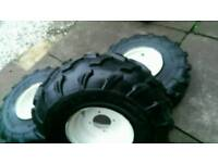 Quad wheels n tires