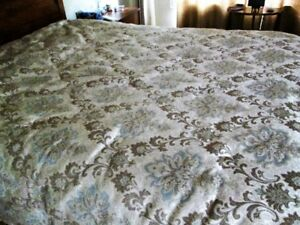 Queen Comforter, shams, and bedskirt for sale