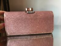 Ted Baker pink sparkly purse