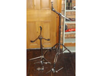 VINTAGE DRUM HARDWARE 60s premier snare stand & cymbal stand spare stand
