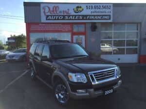 2008 Ford Explorer EDDIE BAUER 4X4 V8 LEATHER+ROOF