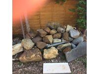 Decorative/retaining garden stones