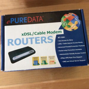 xDSL/Cable Modem Router