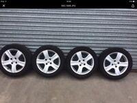Peugeot 307 x51 alloy wheels x4