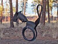 Tyre Swing Horse