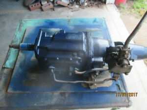 re built FORD transmission   with Hurst shifter