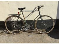 """GENTS RALEIGH ROAD STYLE BIKE 23"""" FRAME £65"""
